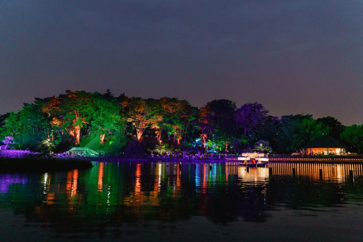 YohaS 2021 夜ハス – Night Park Galleryのイメージ